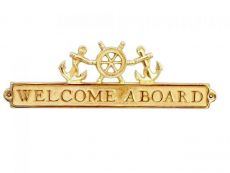 Welcome Aboard Signs