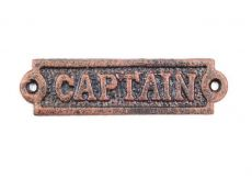 Captain Signs